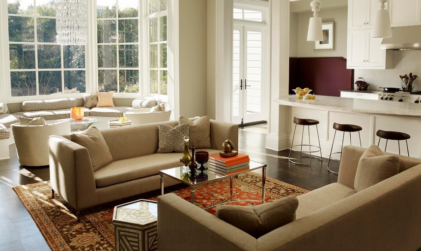 SCM Design Group open concept living