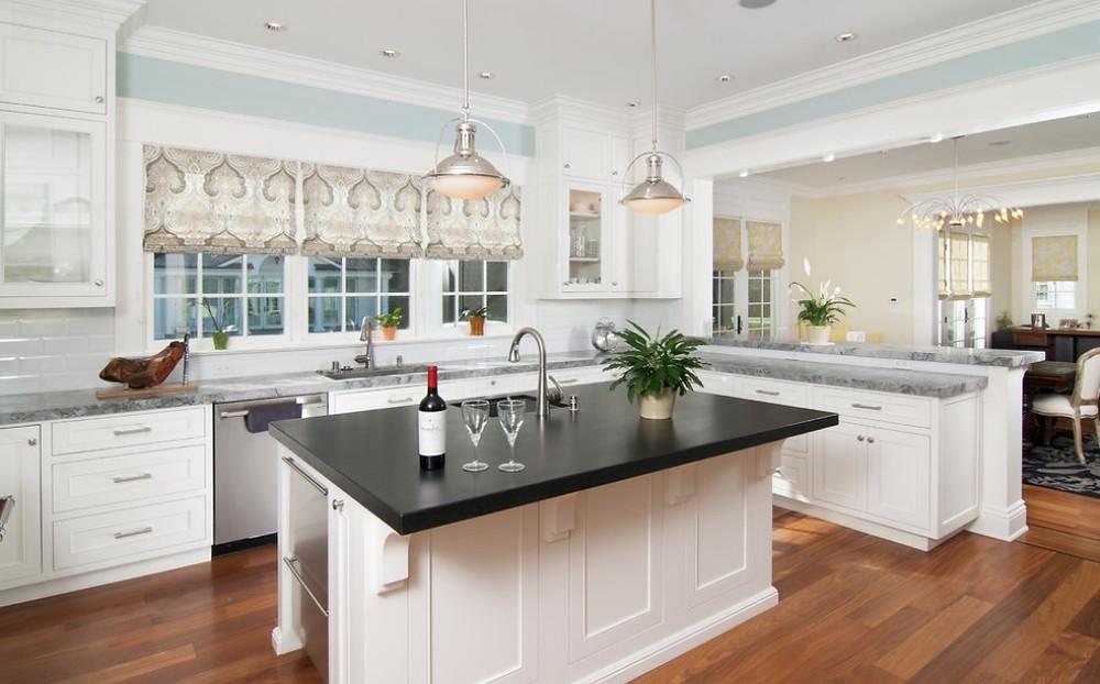 SCM Design Group open concept kitchen