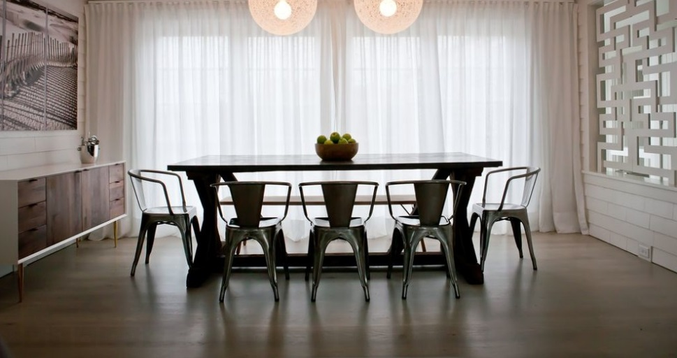 SCM Design Group hardwood in dining