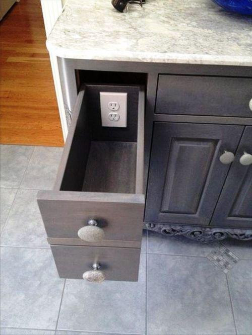 SCM Design Group outlet in drawer