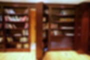 Hidden bookcases doors, Interior designer The Woodlands, Pablo Arguello, TWRS Painting Contractors