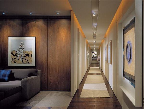 SCM Design Group long illuminated entry way
