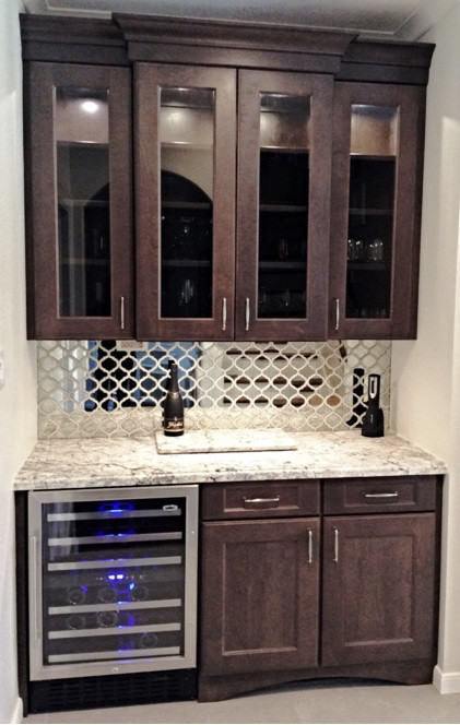 SCM Design Group Built-in Wine cabinet