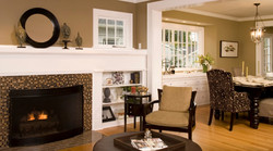 SCM Design Group fireplace painting