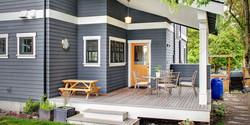 SCM Design Group navy exterior paint