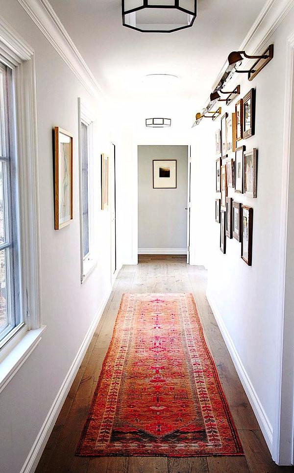 SCM Design Group warm white hallway