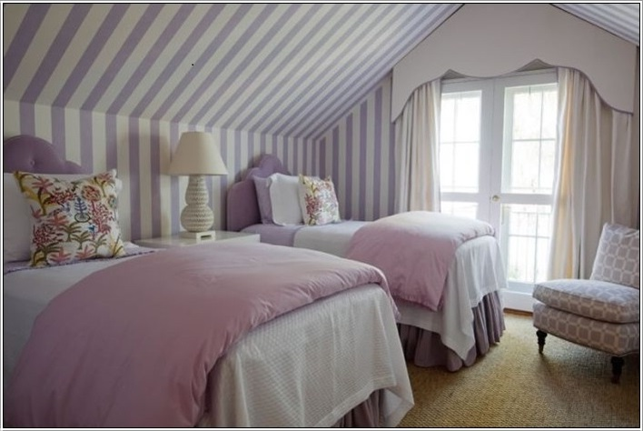 SCM Design Group lavender stripes