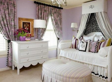 Purple Bedroom! Combination Color Trend ideas