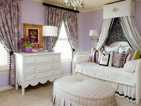 Purple Bedroom! Combination Color Trend ideas