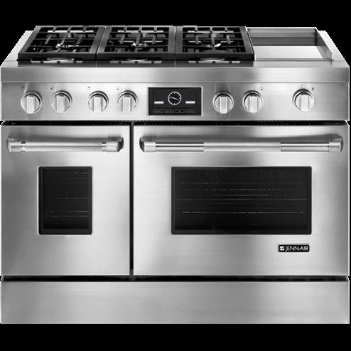 SCM Design Group sleek double oven range