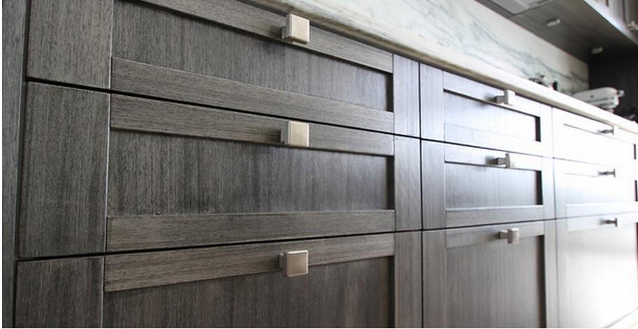 SCM Design Group grey/brown cabinet details
