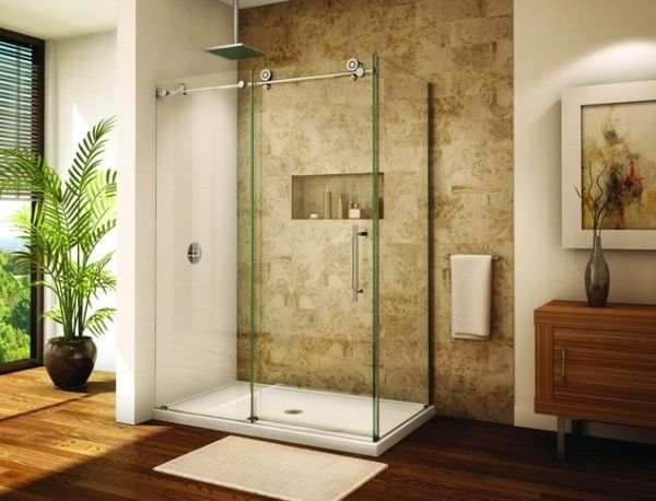 SCM Design Group large frameless shower