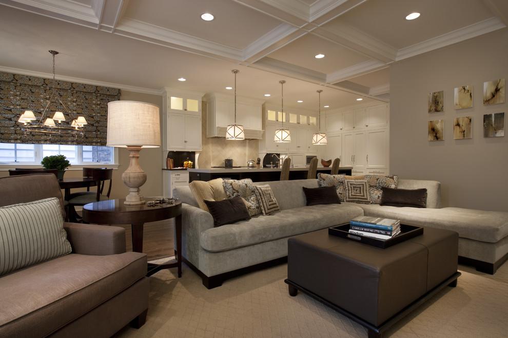 SCM Design Group multi tray ceiling