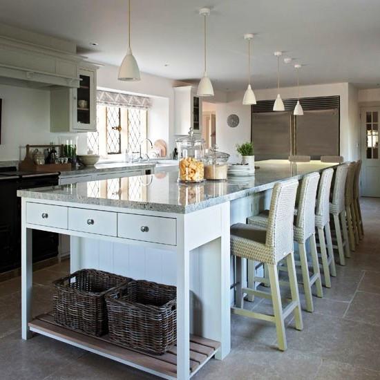  SCM Design Group elongated family kitchen