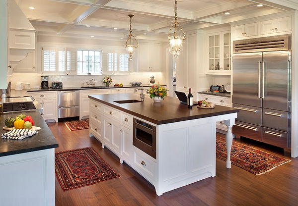 Kitchen transitional Design