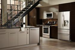 SCM Design Group loft style kitchen