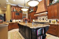 TWRS Kitchen Cabinets Wood Staining