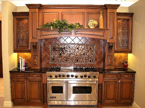 SCM Design Group custom backsplash