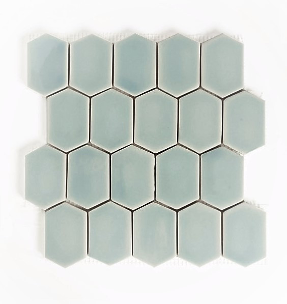 SCM Design Group honeycomb subway tile