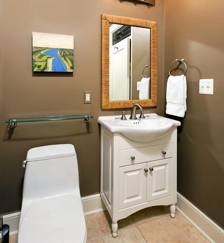 SCM Design Group bidet in bathroom