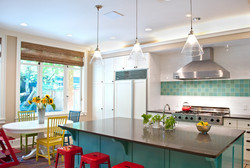 SCM Design Group tropical kitchen