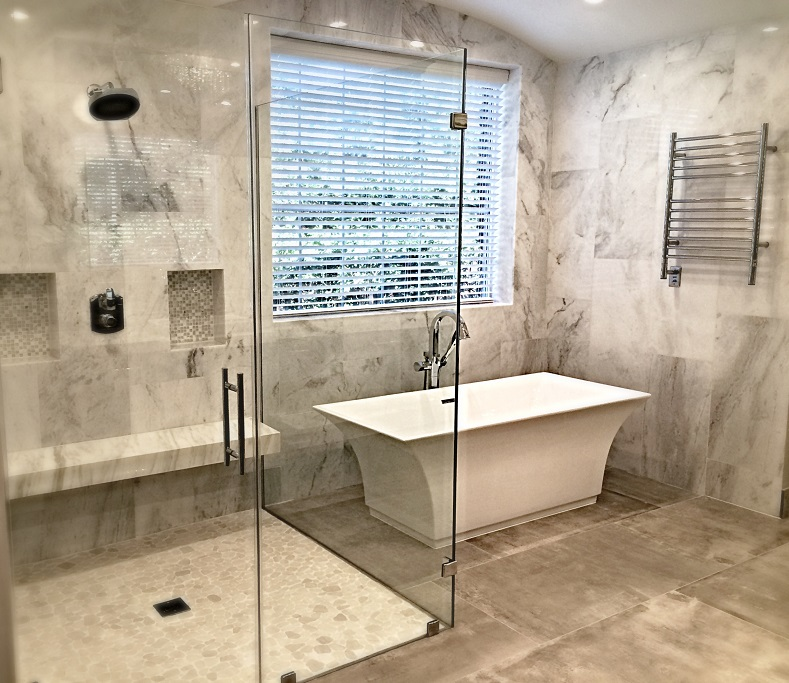 SCM Design Group shower and tub