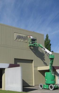 SCM Design Group exterior sign paint