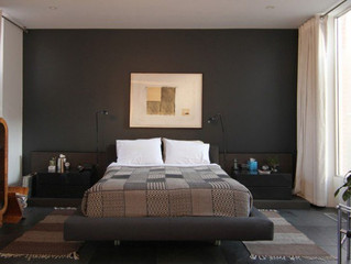 Bedroom Designs with Accent Walls !!! Great Painting Ideas.