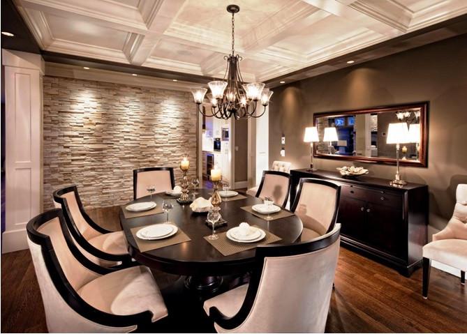 SCM Design Group - Stackstone dining room -