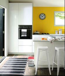 SCM Design Group, Benjamin Moore- Banana Yellow