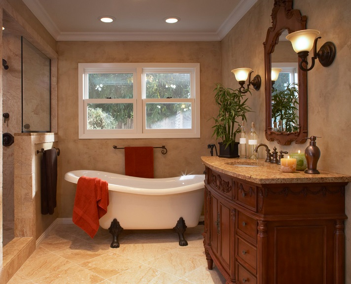 SCM Design Group clawfoot tub