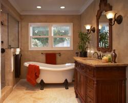 SCM Design Group clawfoot tub