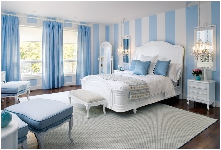 SCM Design Group blue stripes paint