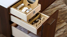 Custom Vanities, Storage hidden ideas!