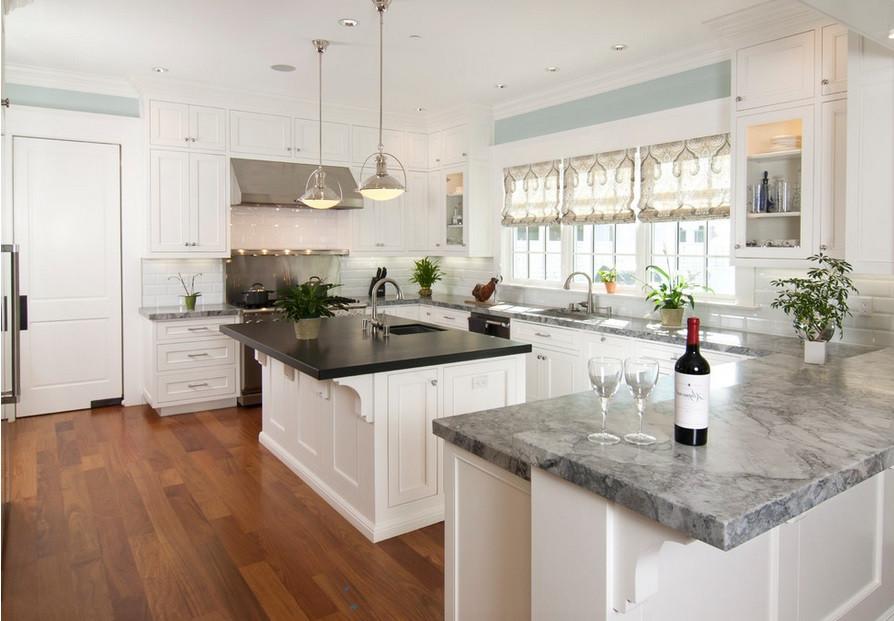 SCM Design Group kitchen with hardwood floor