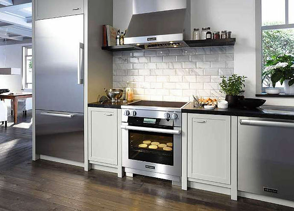 SCM Design Group modern kitchen appliances