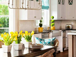 Spring is here!  it's time for your home refreshment.. Inspiration Colors mix 2105