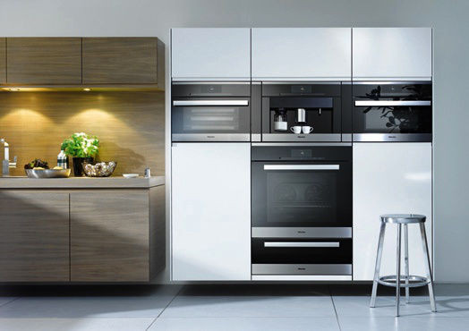 SCM Design Group custom sleek miele appliances