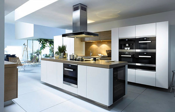 SCM Design Group sleek appliances in modern kitchen