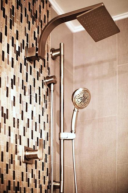 SCM Design Group modern rectangle shower head