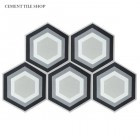 SCM Design Group honeycomb cement tile