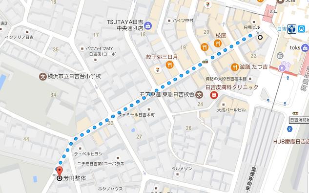 野口整体,日吉,横浜