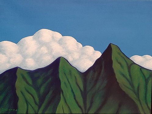 Mountains and Clouds #3