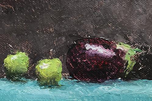 Seamus Berkeley, Green Apples and Eggplant