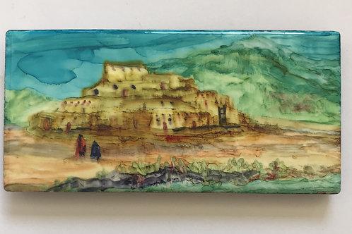 Debra Piedrafita,Taos Pueblo