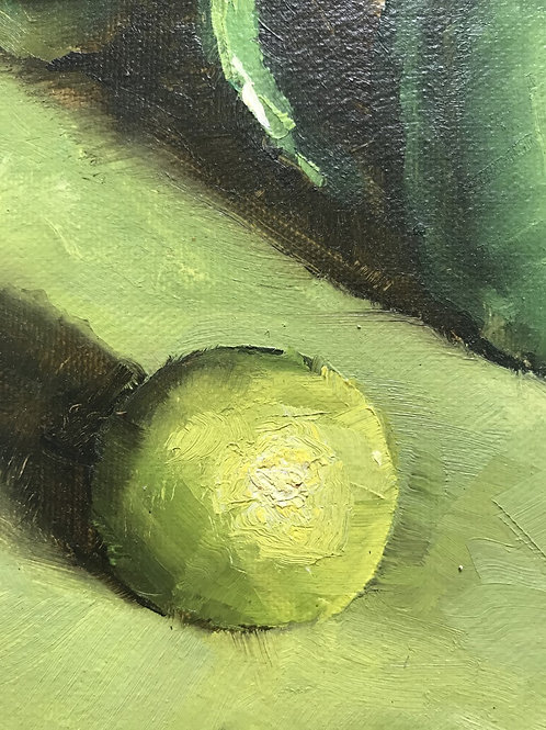 Seamus Berkeley, Lime on Green