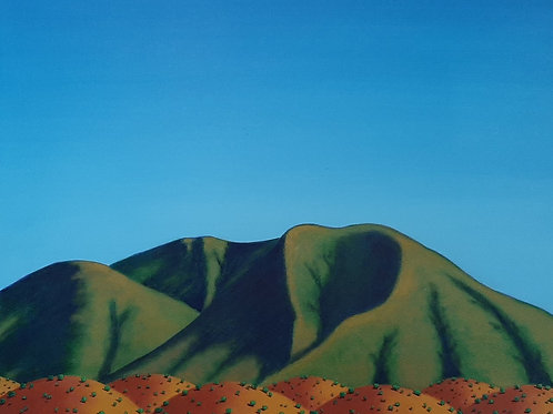 Hills and Mountains, North of Taos