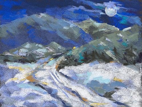 Joan Norris, Moonrise over San Cristobal