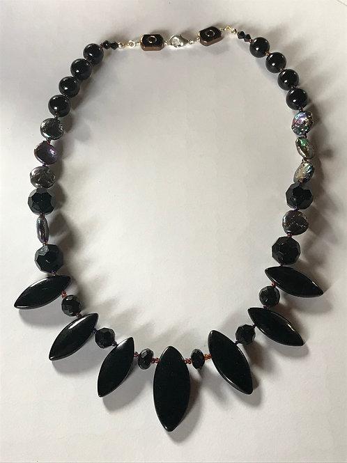 Georgia Gersh, Onyx necklace
