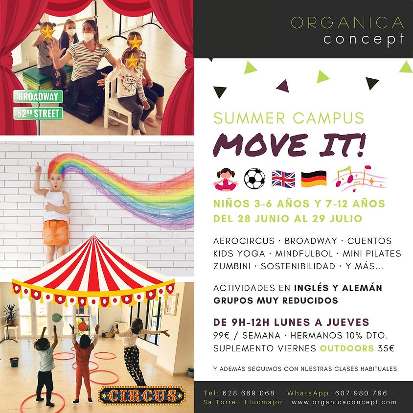 Campus de Verano: Move it!